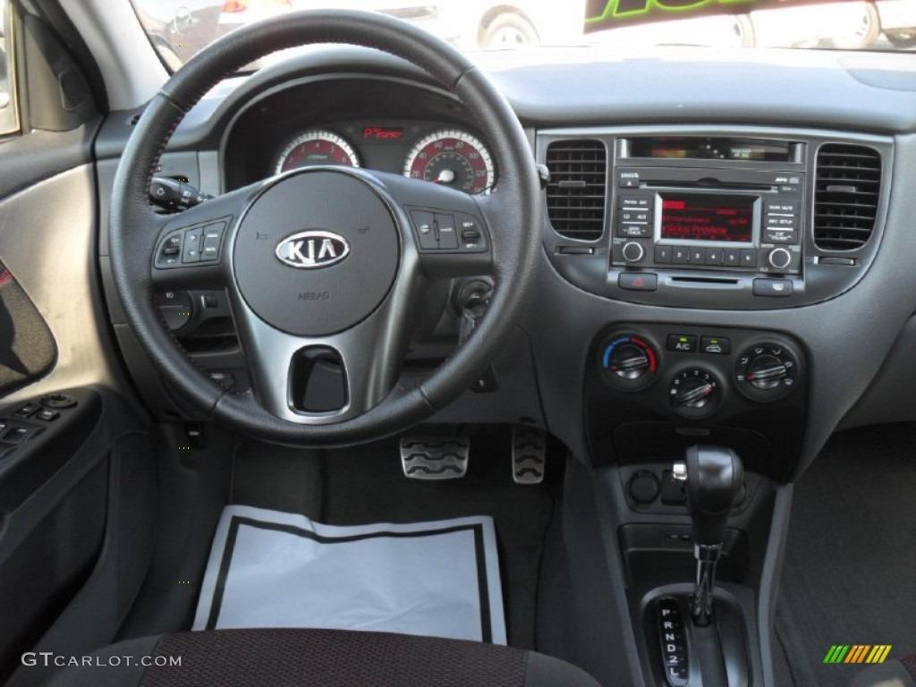 Kia Rio Rio Sx Hatchback Gray Dashboard Photo