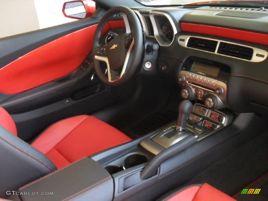 2012 chevrolet camaro ss rs convertible interior photo. Black Bedroom Furniture Sets. Home Design Ideas