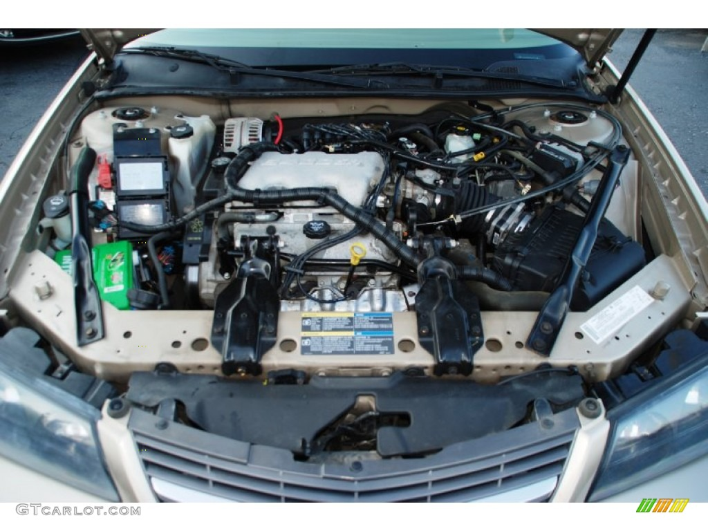 2005 Chevrolet Impala Standard Impala Model 3.4 Liter OHV 12 Valve V6 Engine  Photo #54013909