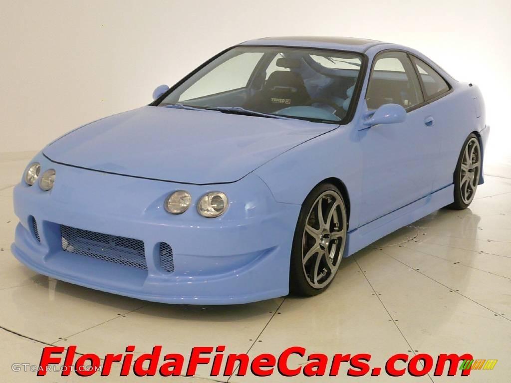 2000 Custom Light Blue Acura Integra Gs R Coupe 5391091 Photo 14 Gtcarlot Com Car Color Galleries