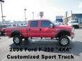 Red Clearcoat 2006 Ford F250 Super Duty Gallery