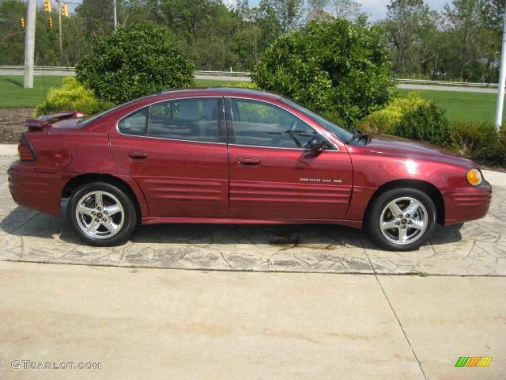 redfire metallic 2002 pontiac grand am se sedan exterior photo 54042941. Black Bedroom Furniture Sets. Home Design Ideas