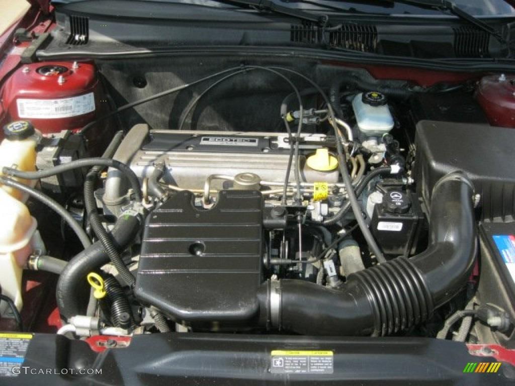 2002 Pontiac Grand Am Se Sedan 2 2 Liter Dohc 16