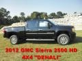 Onyx Black - Sierra 2500HD Denali Crew Cab 4x4 Photo No. 1