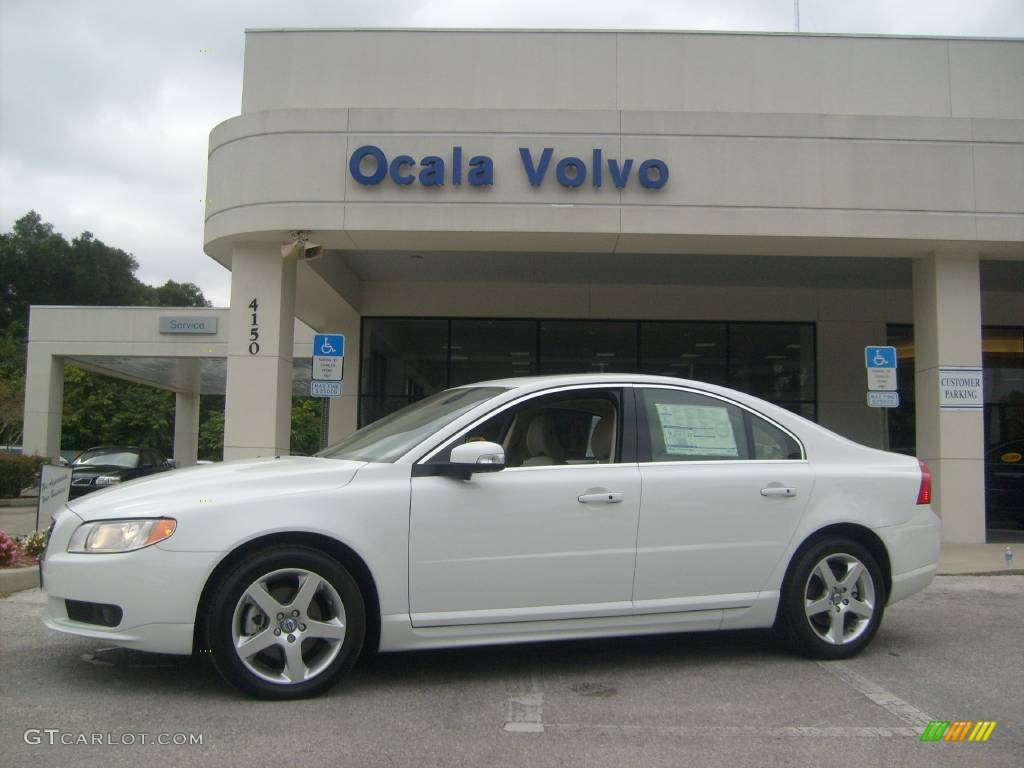 2008 Ice White Volvo S80 T6 AWD #520704 | GTCarLot.com - Car Color Galleries