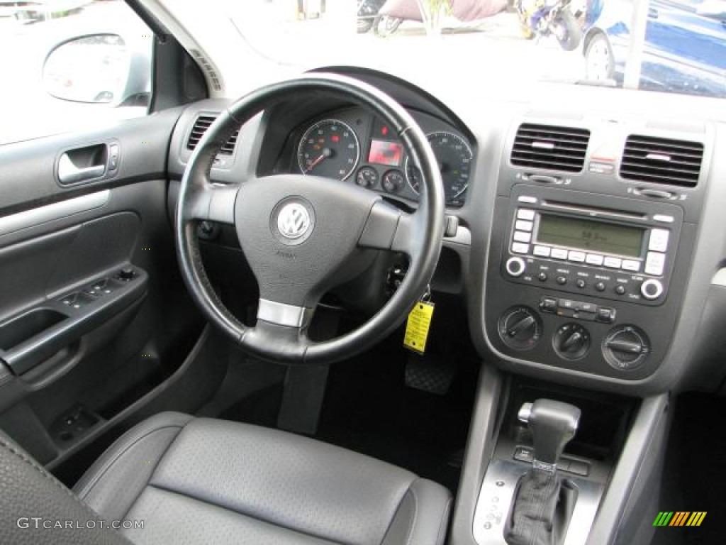 Anthracite Black Interior 2008 Volkswagen Jetta Wolfsburg Edition Sedan Photo #54056618 ...
