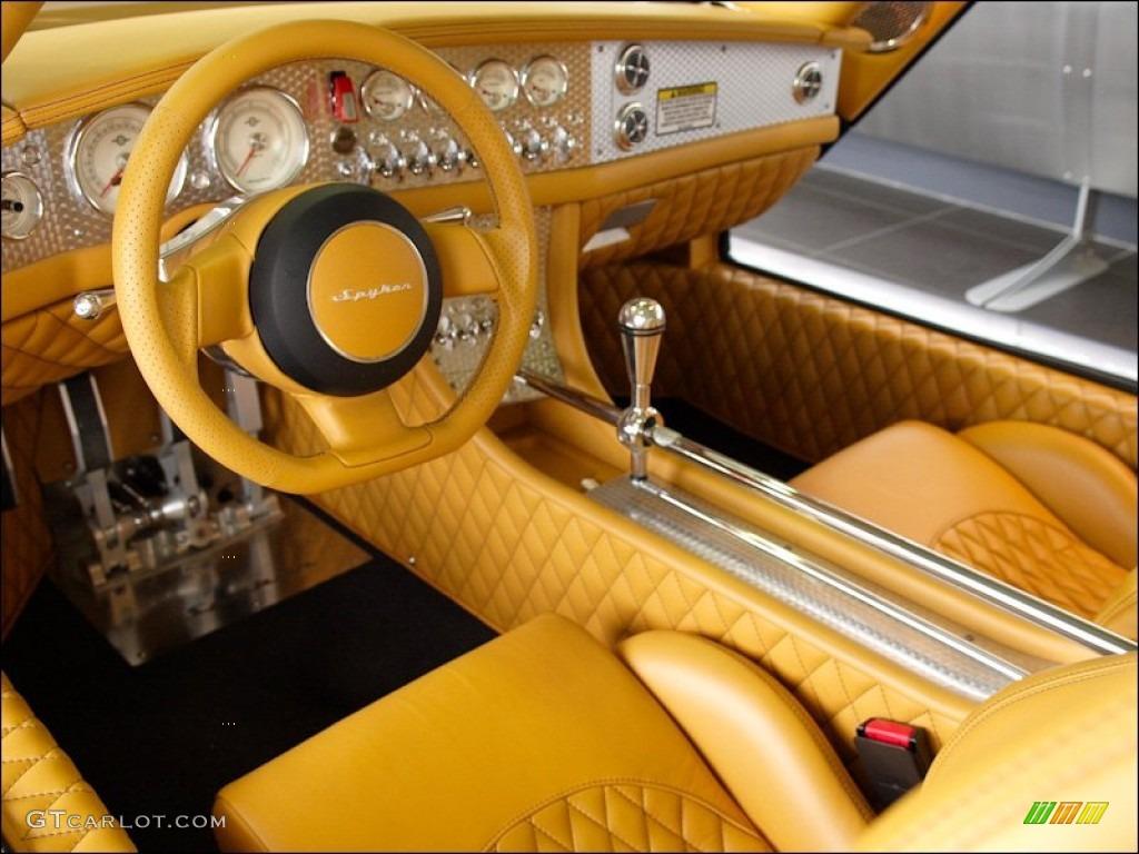 2009 Spyker C8 Laviolette SWB interior Photo #54063749 | GTCarLot.com