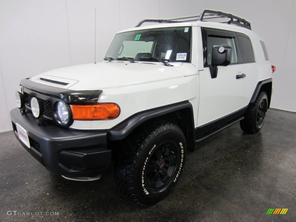2008 iceberg white toyota fj cruiser trail teams special. Black Bedroom Furniture Sets. Home Design Ideas