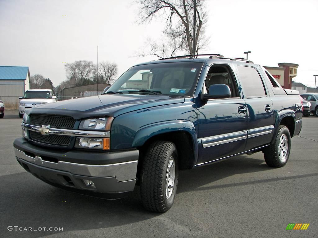 2005 bermuda blue metallic chevrolet avalanche z71 4x4. Black Bedroom Furniture Sets. Home Design Ideas