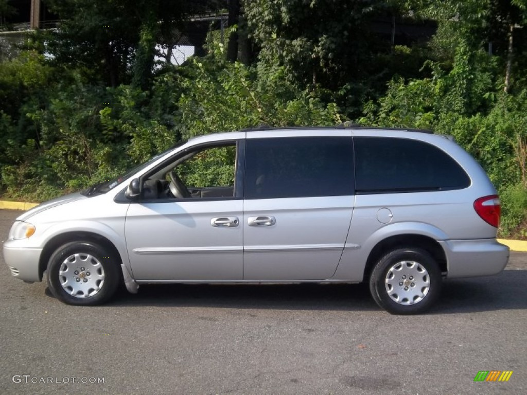 bright silver metallic 2002 chrysler town country el exterior photo 54070737. Black Bedroom Furniture Sets. Home Design Ideas