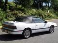 1989 Lebaron GTC Turbo Convertible Bright White