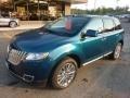 HQ - Mediterranean Blue Metallic Lincoln MKX (2011)