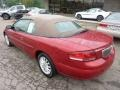 2003 Inferno Red Tinted Pearl Chrysler Sebring LXi Convertible  photo #2
