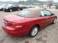 2003 Inferno Red Tinted Pearl Chrysler Sebring LXi Convertible  photo #4