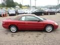 2003 Inferno Red Tinted Pearl Chrysler Sebring LXi Convertible  photo #5