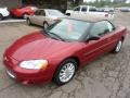 2003 Inferno Red Tinted Pearl Chrysler Sebring LXi Convertible  photo #8