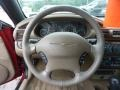2003 Inferno Red Tinted Pearl Chrysler Sebring LXi Convertible  photo #16