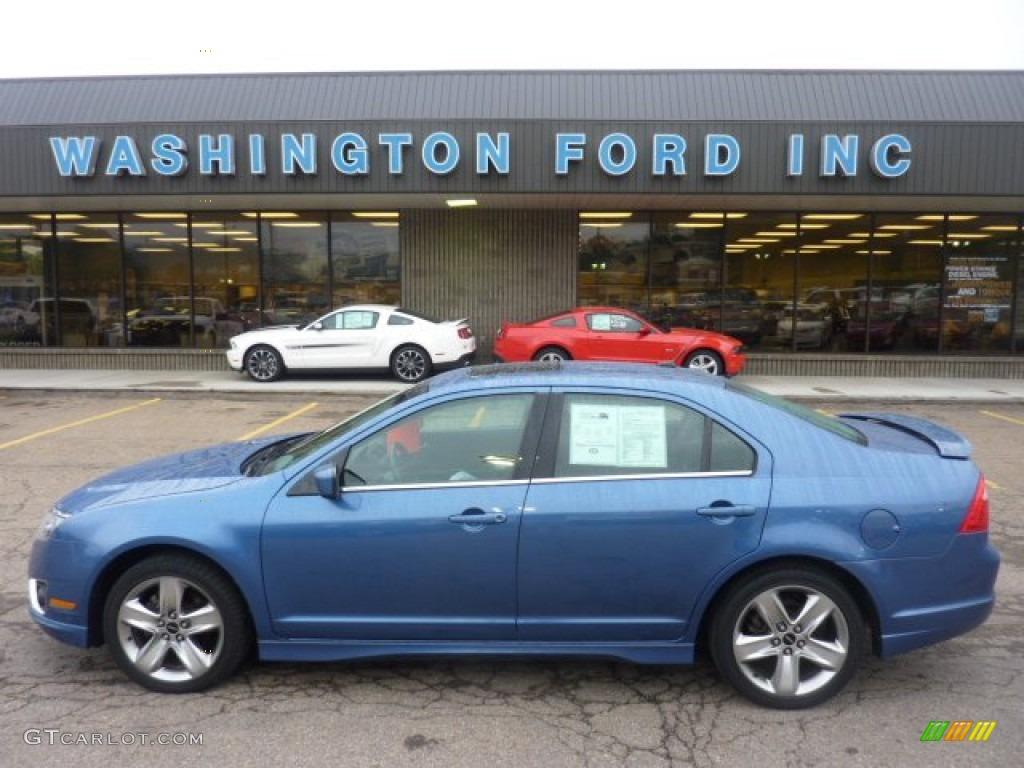 2010 Sport Blue Metallic Ford Fusion Sport AWD 53980951
