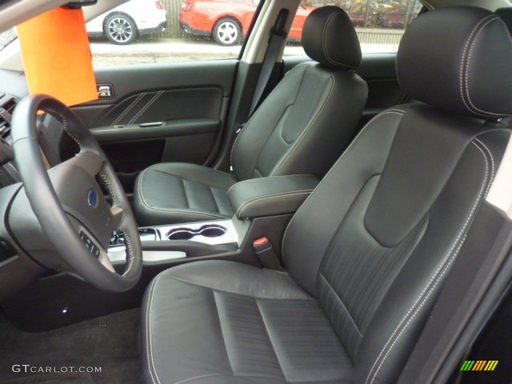 charcoal black interior 2011 ford fusion sport awd photo 54079071. Black Bedroom Furniture Sets. Home Design Ideas