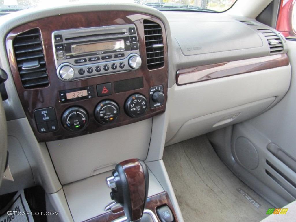 2006 suzuki xl7 7 passenger awd beige dashboard photo 54081882