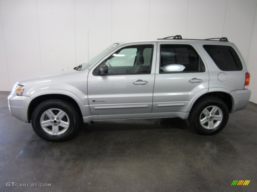 silver metallic 2006 ford escape hybrid 4wd exterior photo. Black Bedroom Furniture Sets. Home Design Ideas