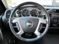 Ebony Steering Wheel Photo for 2008 Chevrolet Silverado 1500 #54083448