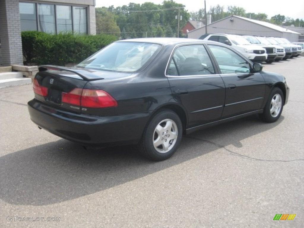 2000 Nighthawk Black Pearl Honda Accord EX V6 Sedan ...