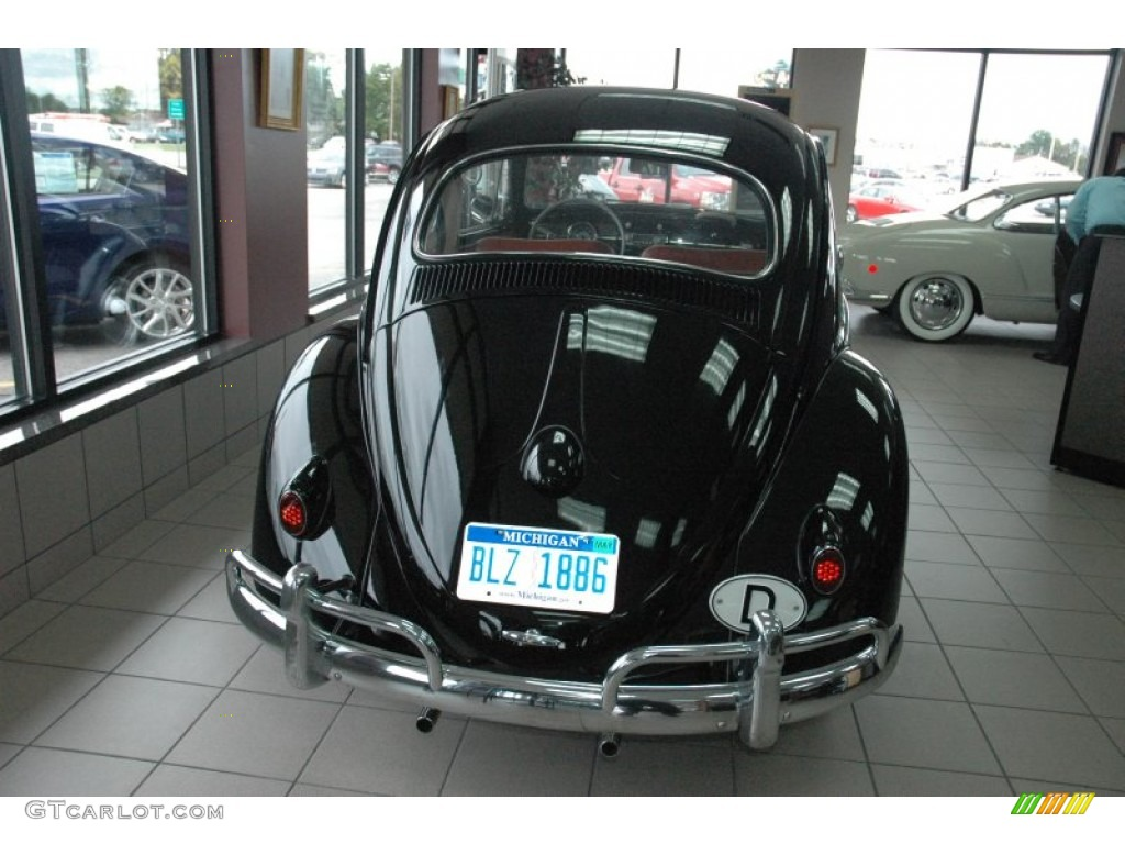 1961 black volkswagen beetle coupe 53982985 photo 4 car color galleries. Black Bedroom Furniture Sets. Home Design Ideas
