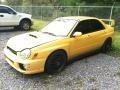 Sonic Yellow 2003 Subaru Impreza Gallery