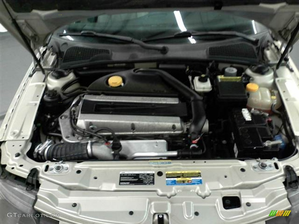 2006 Saab 9-5 2.3T Sedan Engine Photos