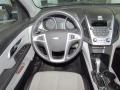 Jet Black/Light Titanium Dashboard Photo for 2010 Chevrolet Equinox #54124122