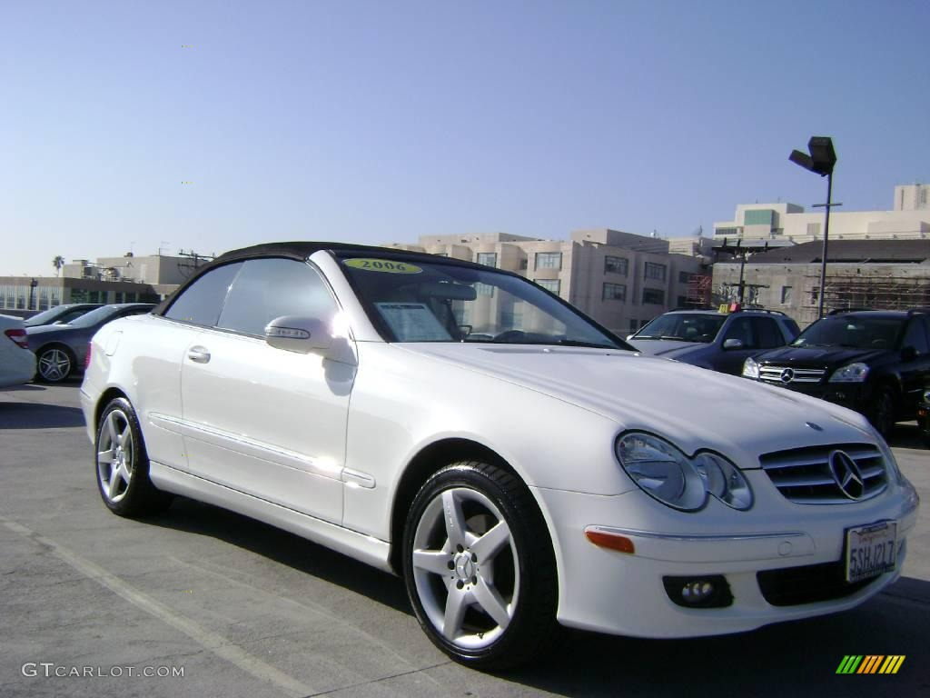 2006 alabaster white mercedes benz clk 350 cabriolet for Mercedes benz 350 convertible