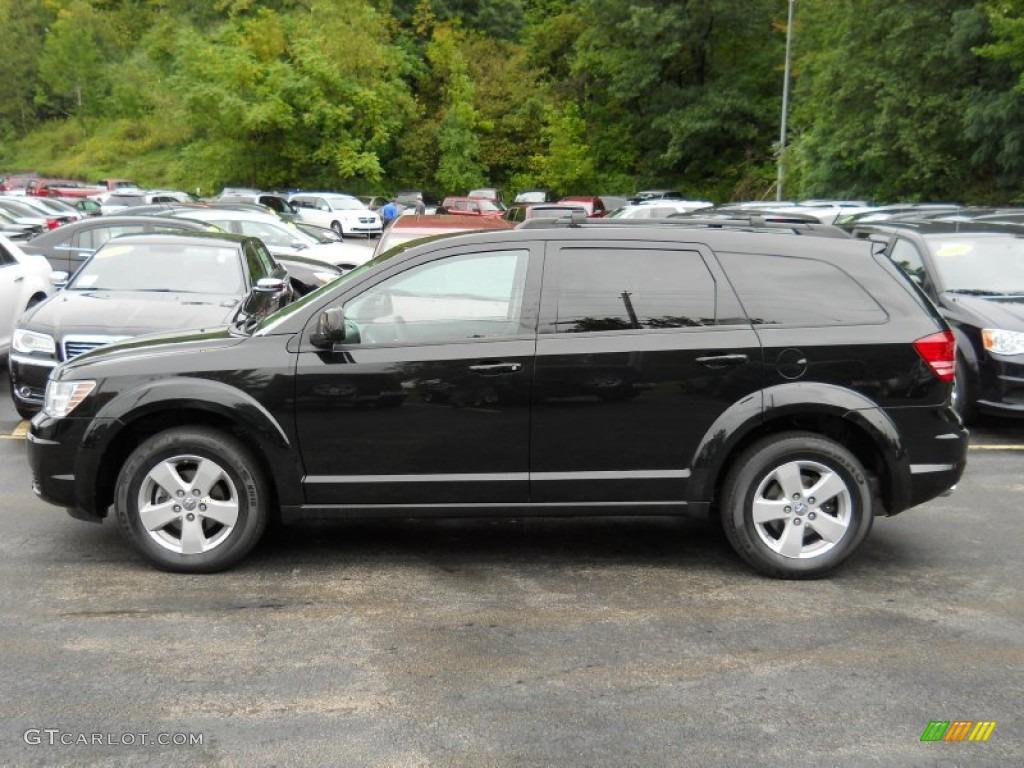 Dodge Journey Sxt >> Brilliant Black Crystal Pearl 2010 Dodge Journey SXT Exterior Photo #54131304 | GTCarLot.com