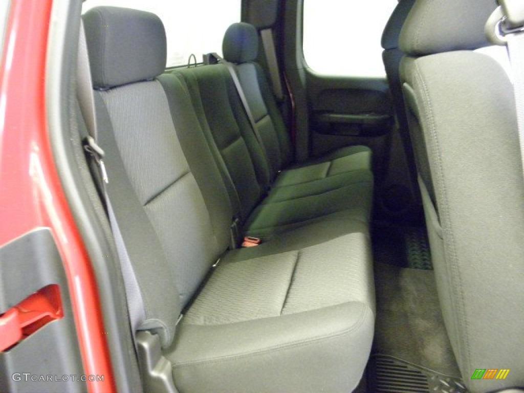 2012 Silverado 1500 LT Extended Cab - Victory Red / Ebony photo #10