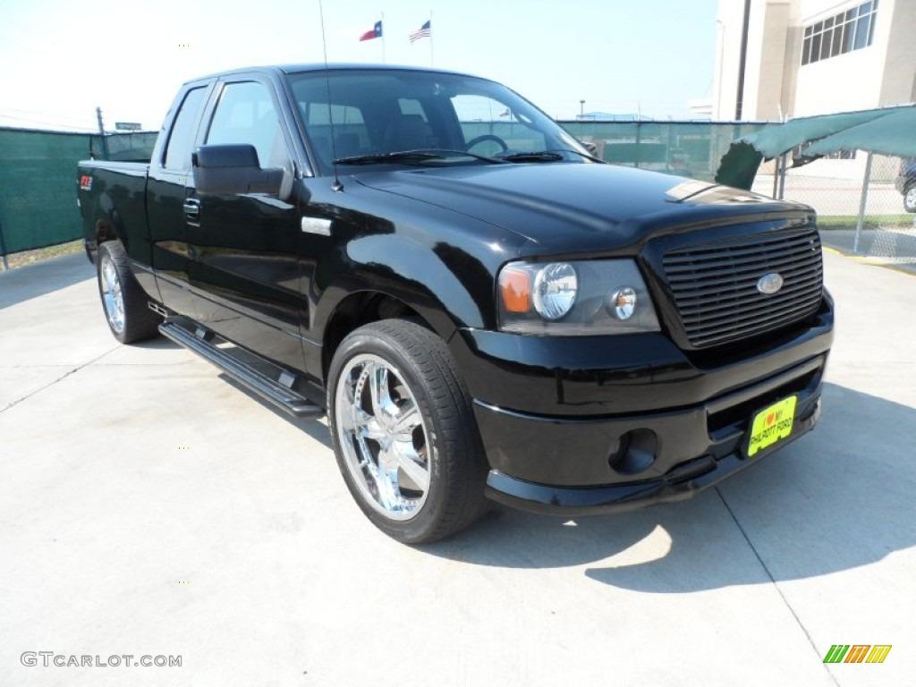 2007 black ford f150 fx2 sport supercab 53980658 car color galleries. Black Bedroom Furniture Sets. Home Design Ideas