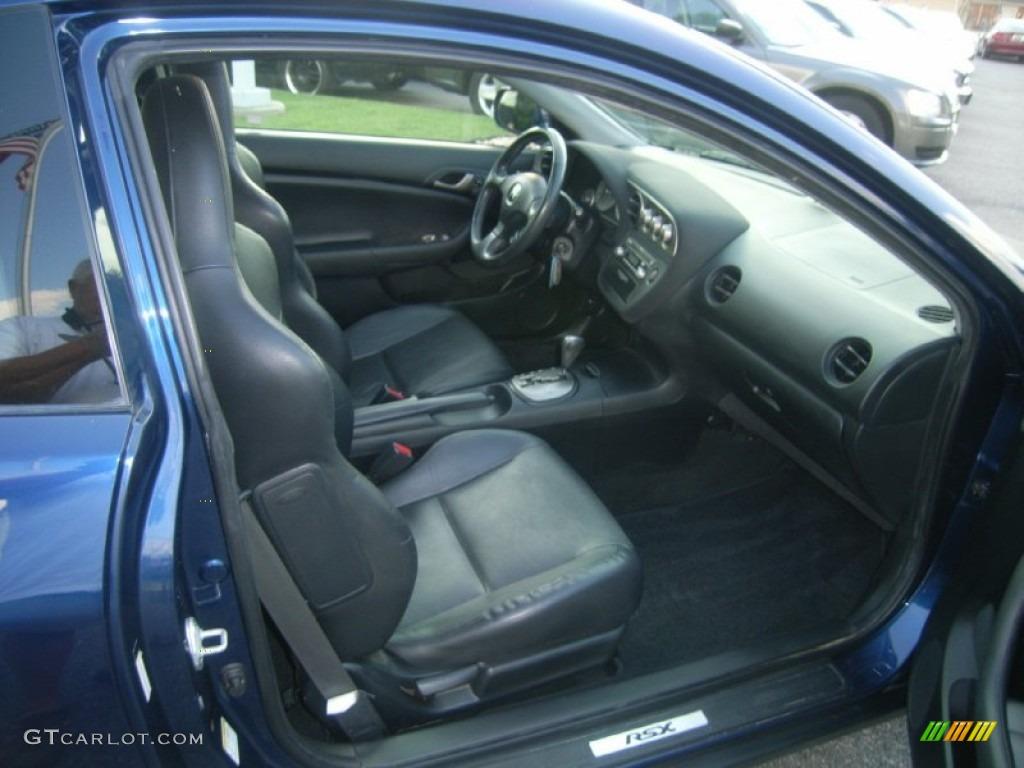 Ebony Black Interior 2002 Acura RSX Sports Coupe Photo ...
