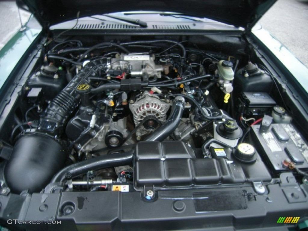 2001 mustang gt engine specs