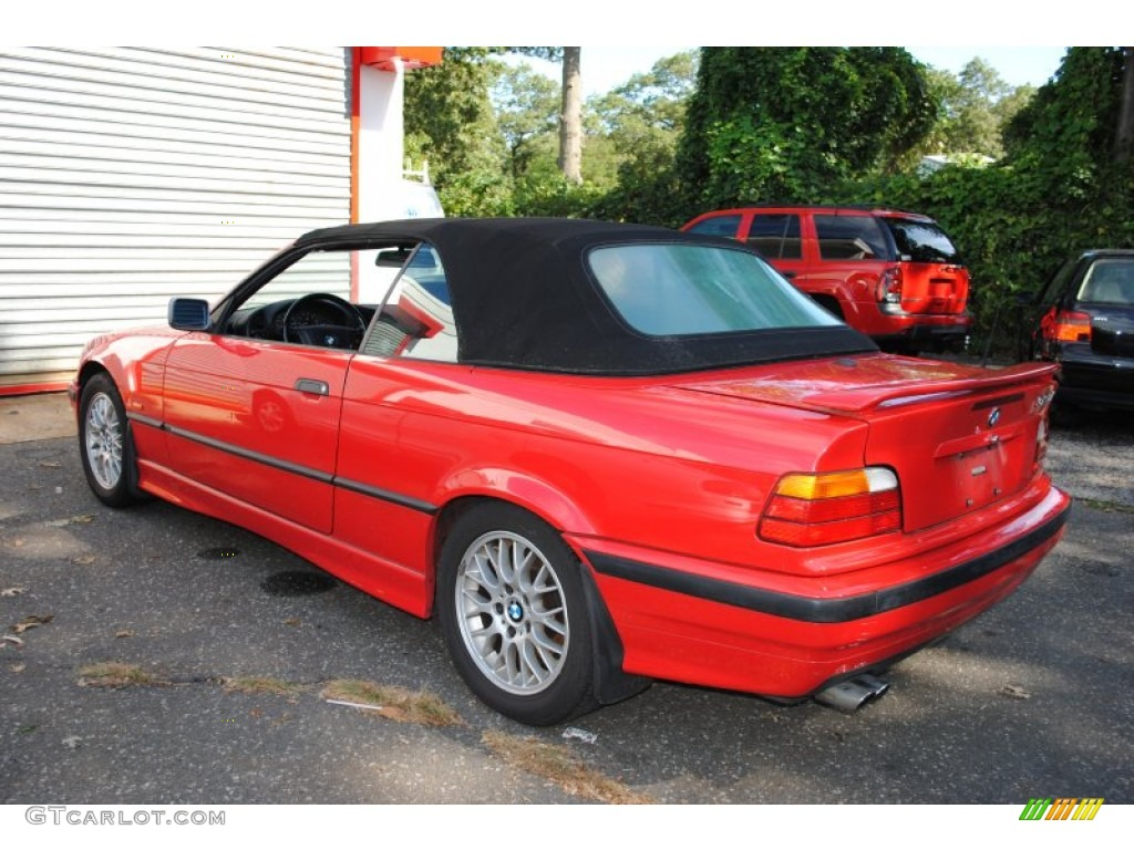 bright red 1998 bmw 3 series 323i convertible exterior. Black Bedroom Furniture Sets. Home Design Ideas