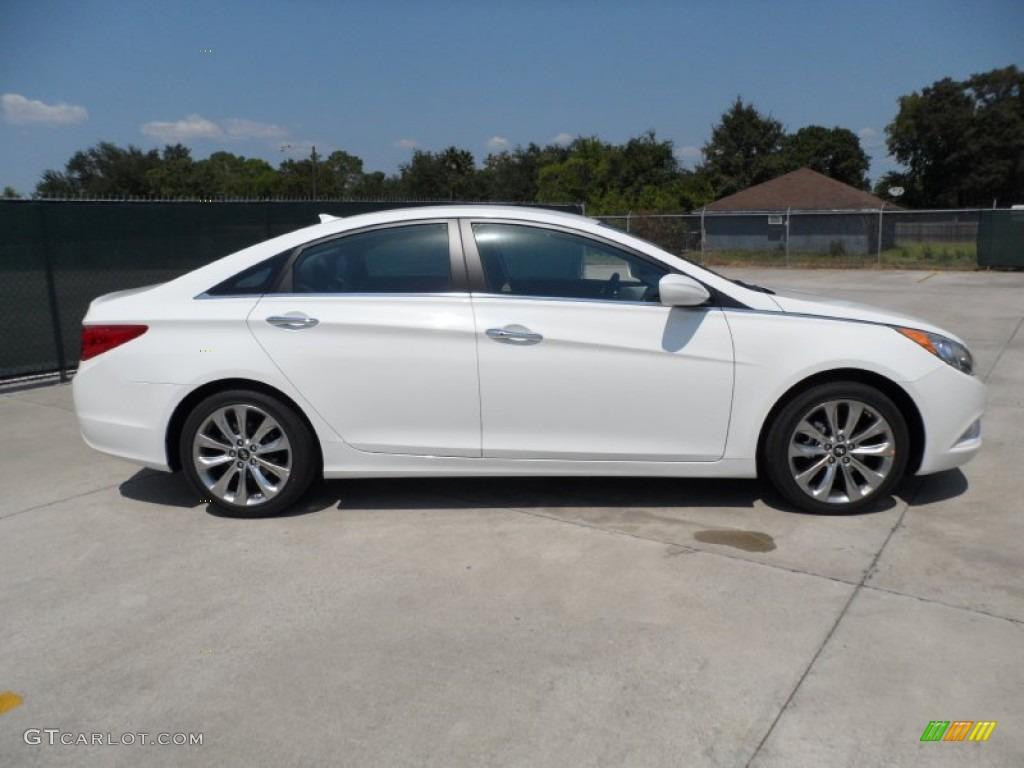 Shimmering White 2012 Hyundai Sonata Se 2 0t Exterior