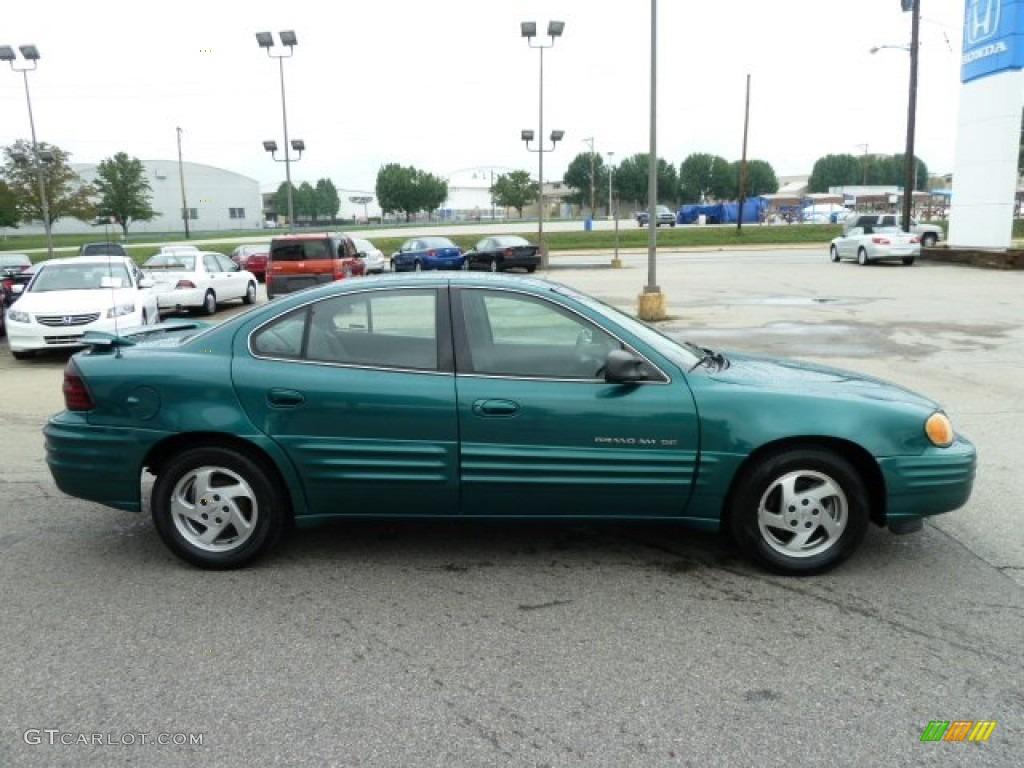 1999 manta green metallic pontiac grand am se sedan 53982725 photo 6 car. Black Bedroom Furniture Sets. Home Design Ideas