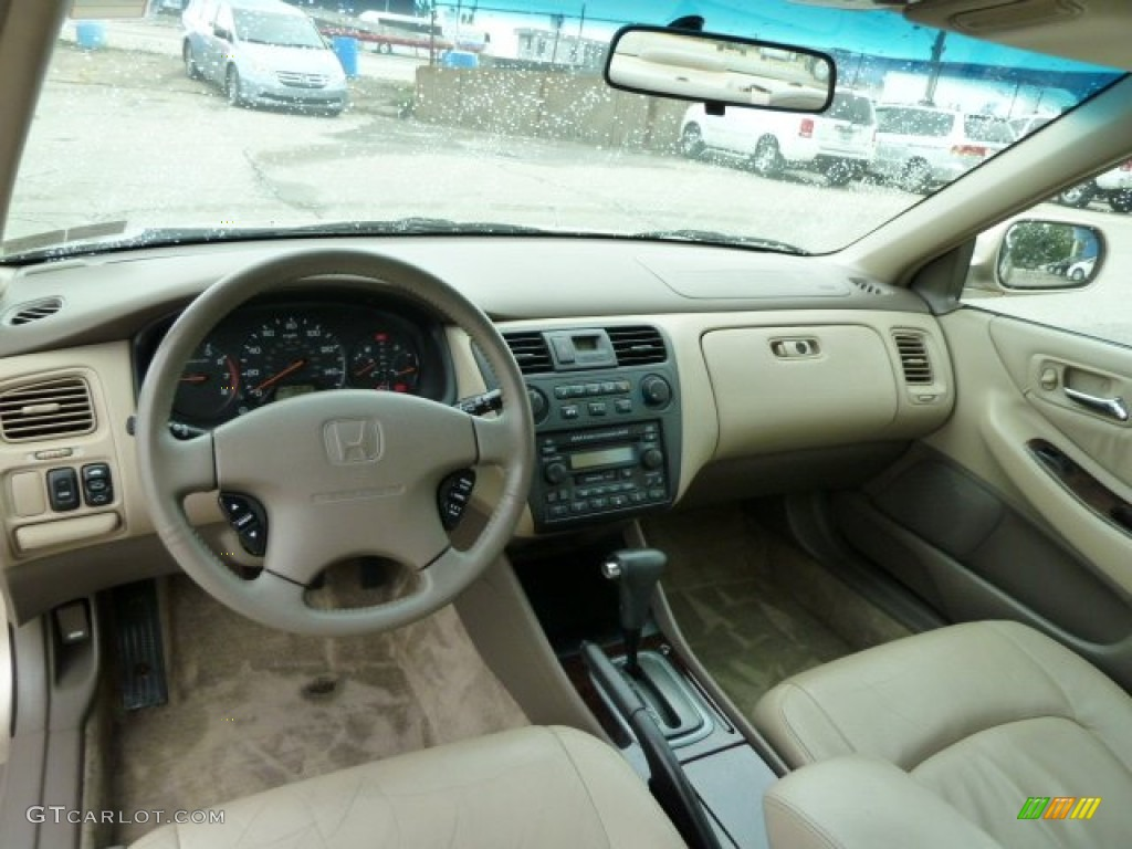 Ivory Interior 2001 Honda Accord Ex Sedan Photo 54156687 Gtcarlot Com