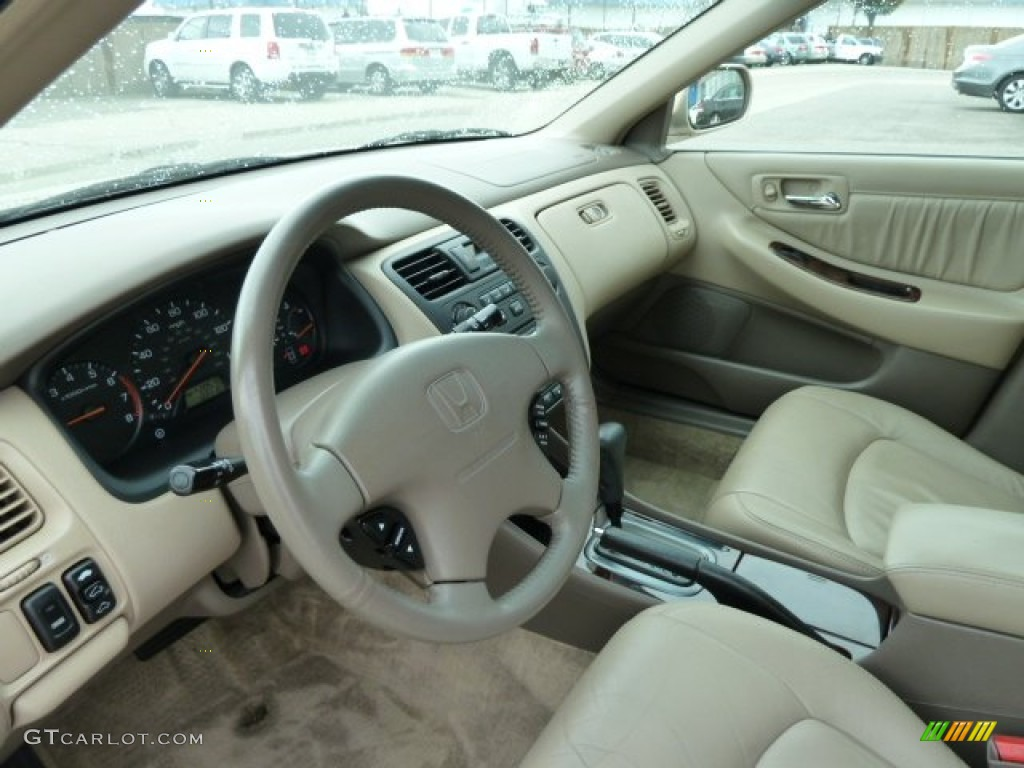 Ivory Interior 2001 Honda Accord Ex Sedan Photo 54156715