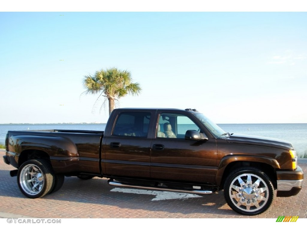 2005 custom bronze chevrolet silverado 3500 lt crew cab 4x4 dually 53980592 photo 2 gtcarlot