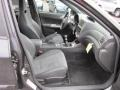 Carbon Black/Graphite Gray Alcantara Interior Photo for 2008 Subaru Impreza #54166885