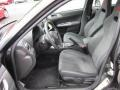 Carbon Black/Graphite Gray Alcantara Interior Photo for 2008 Subaru Impreza #54166900