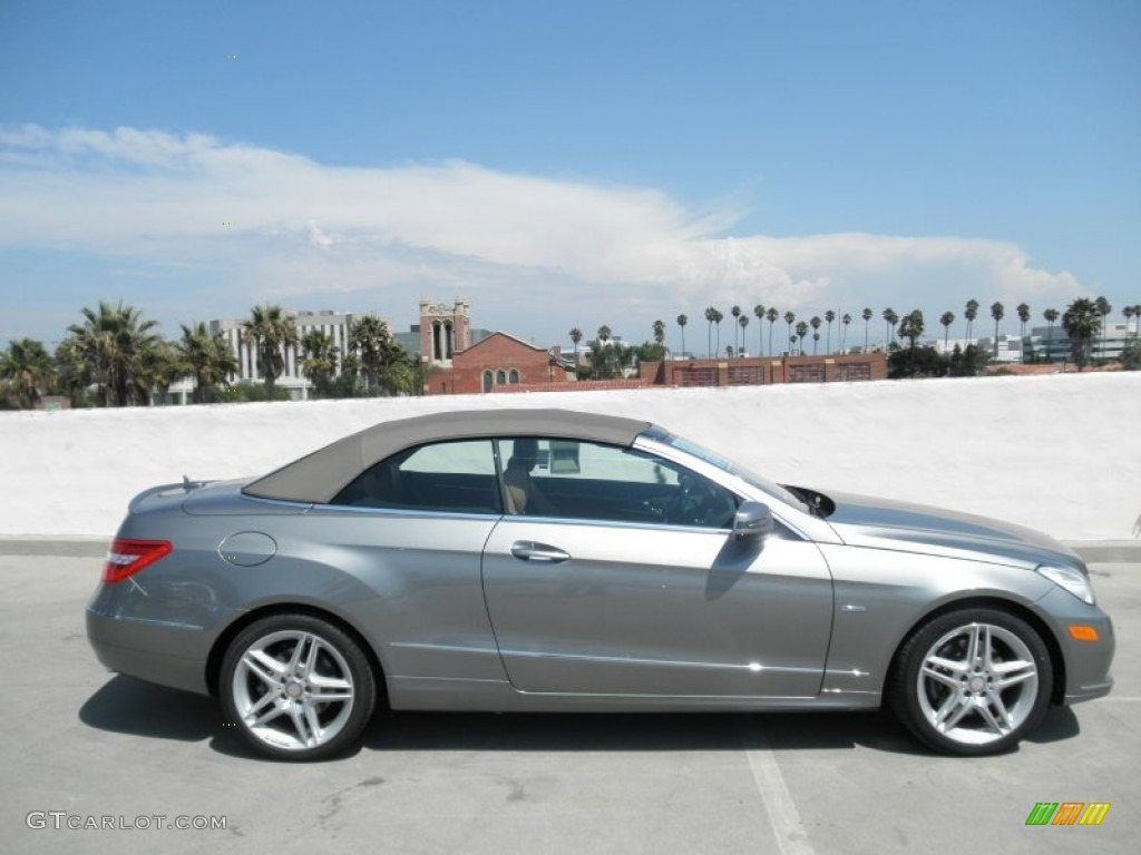 Palladium silver metallic 2012 mercedes benz e 350 for 2012 mercedes benz e350 convertible