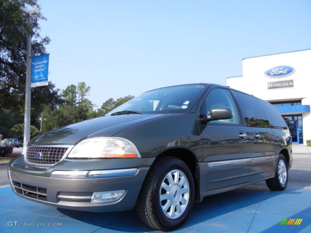 2003 Estate Green Metallic Ford Windstar Limited 53980535