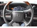 2002 Cadillac Escalade Pewter Interior Steering Wheel Photo
