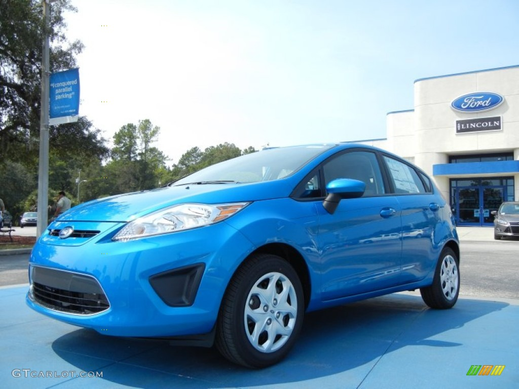 Ford Fiesta Sfe Blue Candy Metallic 2012 Ford Fiesta SE Hatchback Exterior Photo ...