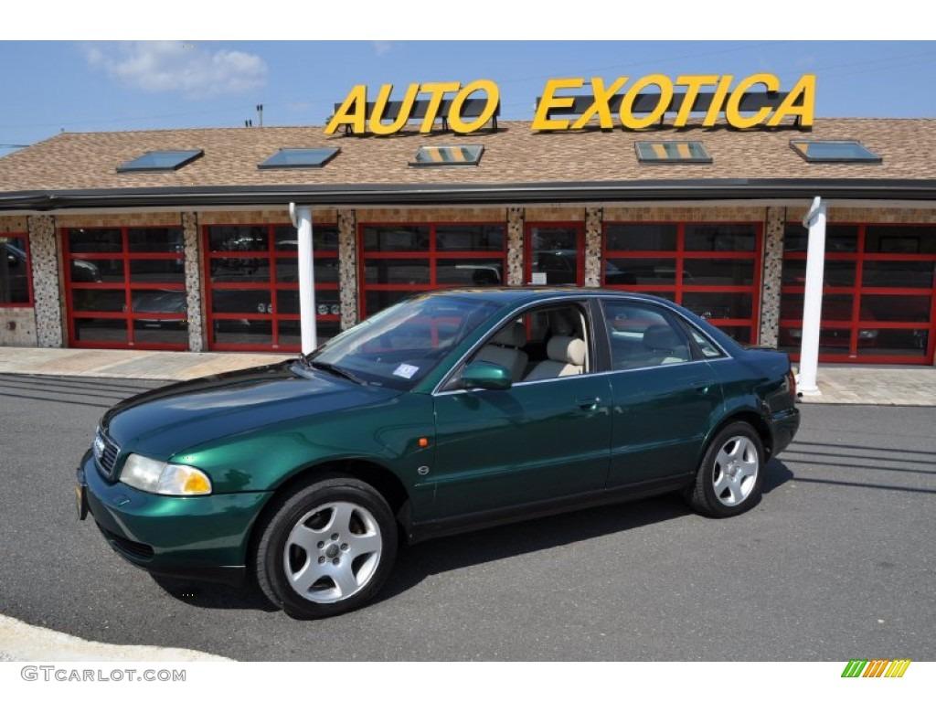 1997 cactus green metallic audi a4 2 8 quattro sedan. Black Bedroom Furniture Sets. Home Design Ideas
